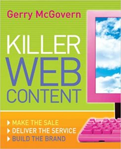 gerry-mcgovern-killer-web-content